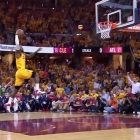Best of Lebron James 2015 playoffs [video]